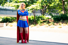 SP_44418 (Patcave) Tags: momocon momocon2016 2016 convention cosplay costumes cosplayers portrait shoot shot canon 1740mm f4 sigma 85mm f14 lens patcave 5d3 atlanta georgia world congress center outdoors hot humid dc comics supergirl maid might