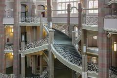 Traumschloss (Elbmaedchen) Tags: staircase berlin stadtgericht treppenhaus jugendstiltreppe amtsgericht littenstrase