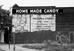 Home Made Candy (chuckh6) Tags: sign detroit urban building