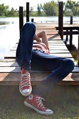 (Luli Mustapich) Tags: break descanso relax rio muelle