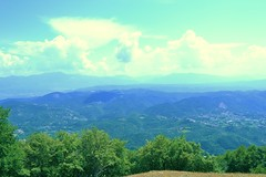 Vista dal Monte Tancia (Gabriele Atzori) Tags: appennini appennines monti mountains natura nature green verde sky cielo italia italy paesi tancia sabini cima vetta