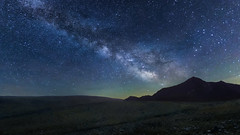 Light to Elysium (Ateens Chen) Tags: nikon d700 afszoomnikkor1735mmf28difed landscape starrysky milkyway longexposure star night mountain sky blue nature light