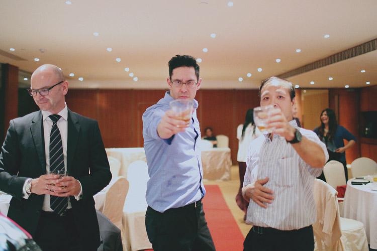 婚禮攝影-乾杯