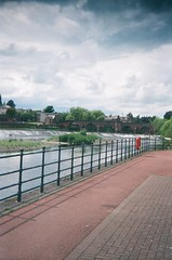 Nith View (bigalid) Tags: film 35mm june 2016 halina haking pet c41 dumfries agfaphotovistaplus200 nith river