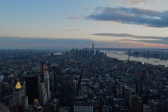 Looking over NYC (WinterTheWusky) Tags: nyc cityscape evening
