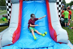 TSC 081116 053 (Tolland Recreation) Tags: boys girls kids children youth tweens summer camp fun games activities recreation party bash celebration inflatables smiles tolland connecticut football sports athletes athletics