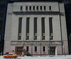 1937 toronto stock exchange (f o t o o r a n g e) Tags: 1937 torontostockexchangebuilding georgemoorhouse architects baystreet toronto