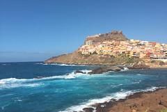 Castelsardo (xplorengo) Tags: sea sardinia sardinie sardegna italy itali italia italie castelsardo castel castle town mediterranean blue bleu colorful