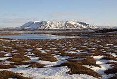 Maisema Mvatnista (ikithule) Tags: mvatn iceland ikithule huhtikuu april vesi jrvi lumi snow vuori mountain maisema landscape jannemaikkula