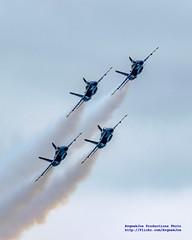 BLUE ANGELS DIAMOND BANKING AROUND UNDER CLOUDS (AvgeekJoe) Tags: blueangels boeingfa18 boeingfa18hornet boeingfa18c boeingfa18chornet d5300 dslr fa18hornet fa18chornet navalaviation nikon nikond5300 usnavy usnavyblueangels usn fa18 fa18c