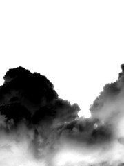 clouds1 (Heginger) Tags: clouds inverted colours experiment