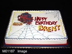 M01187 (merrittsbakery) Tags: cake spiderman marvel comics superhero