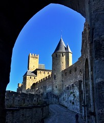 Carcassonne in France (frokenberget) Tags: unesco history catar medievalcity castles france carcassonne