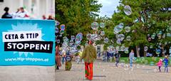 20160917_cetattip_bubbles_ (Andres Franz Gessl) Tags: vienna ceta ttip demonstration dystopia trojanhorseceta bubbles riesenseifenblasenat riesenseifenblasen 17sept2016 wien karlsplatz