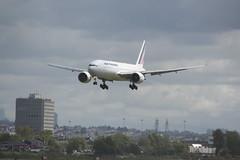 Air France | B772 | F-GSPP (#PP) | YVR | AF374 from CDG (leoyvr) Tags: yvr pp airfrance 772 b772 cyvr boeing777200 fgspp