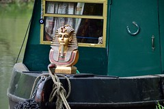 2015 05 03 002 KA Canal (Mark Baker, photoboxgallery.com/markbaker) Tags: uk england west english water boat canal photo spring europe king baker mask britain mark united great may kingdom photograph gb pharaoh british berkshire kennetandavon avon barge narrowboat newbury tutankhamun kennet 2015 picsmark