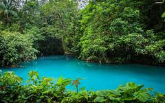 Rio Celeste Catarata (Sky Blue River) near volcan Tenorio (Smart Osama) Tags: costarica tenorio mikebaird 03may2012