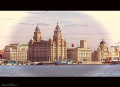 Classic Liverpool Skyline
