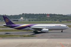 HS-TBD Airbus A.330-343 Thai (pslg05896) Tags: tokyo thai airbus a330 narita nrt rjaa hstbd