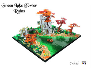 Green Lake Tower Ruins