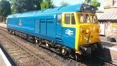 50035 at Hampton Loade (Decibel Dave) Tags: britishrail severnvalleyrailway englishelectric class50 type4 brblue 50035