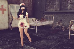 Slaughter House...All Are Welcome! (♥Puppet♥) Tags: secondlife bcc reckless daddysgirl spellbound thearcade essences punci