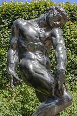 Adam (1) (wamcclung) Tags: sculpture paris france male adam statue bronze garden nude outdoor rodin biblical