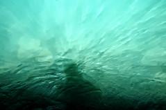 Walenselfie (Elliott Bignell) Tags: shadow lake green texture water schweiz switzerland suisse turquoise teal cyan ostschweiz refraction svizzera rheintal selfie mols walensee walenstadt rheinvalley backscatter