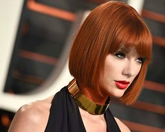 The lovely Taylor as a redhead! (donnacd) Tags: