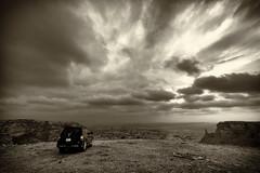Winter Clouds of the Wildreness (Sarfraz Abbasi [0.75 million views, Thanks]) Tags: winter sky clouds evening fuji rainy saudi arabia fujifilm riyadh xt1