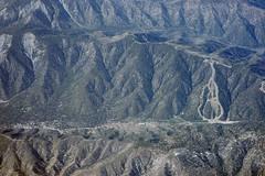 Aerial view of the San Andreas Fault and Wrightwood, San Bernardino and Los Angeles Counties, California (cocoi_m) Tags: california nature wrightwood aerial sanandreasfault fault geology geomorphology aerialphotograph losangelescounty sanbernardinocounty