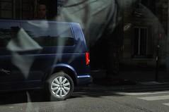 .. (lux fecit) Tags: shadow paris reflection car wheel reflet