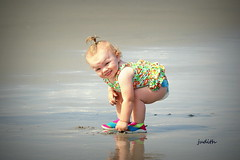 beach baby --EXPLORED (judecat (getting back to nature)) Tags: family baby love beach sand child chloe granddaughter seashore