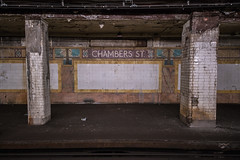 Neglected, Not Unseen (Nick Gagliardi) Tags: train trains railroad new york city nyc ny subway electric underground bmt brooklyn manhattan transit company chambers street