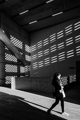 Shadows at Tate Modern Switch House (architectming) Tags: house brick london museum architecture modern de switch shadows tate herzog urbanism brickwork meuron