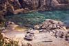 gone swimming (cherryspicks (on/off)) Tags: blue sea summer water rock swimming landscape boat outdoor cove turquoise rocky croatia adriatic mljet