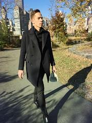 Roosevelt Island (Alice Teeple) Tags: city nyc newyorkcity urban fashion model citylife handsome style rooseveltisland malemodel iphoneonly mextures