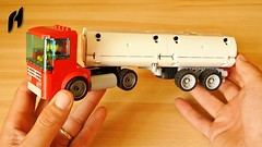 How to Build the Truck with Tanker Trailer (MOC) (hajdekr) Tags: lego legotechnic car toy vehicle automobile tractor cab ergomatic ergomaticcab moc myowncreation wheel wheels trailer tanker tankertruck tankertrailer transport buildingblocks technic tanktruck leylandmotorslimited leylandmotors vagon specialvehicles retro old vintage lorry lorrytruck howto manual tuto tutorial isntructions buildingguide assemblyinstructions creation