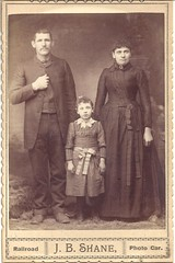 Couple And A Little Girl (ilgunmkr - Thanks for 4,000,000+ Views) Tags: cabinetcard travelingphotographer railroadphotographer railroadgallery railroad kansas jbshanephotographer 19thcentury victorian victorianlady victoriangentleman child littlegirl usa