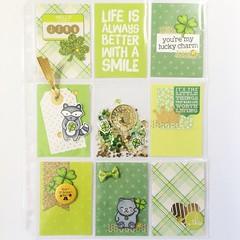 By Scrapbena Creations (Scrapbena Creations) Tags: stpatricksday luckycharm lawnfawn pocketletter
