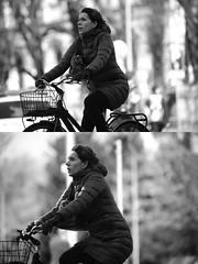 [La Mia Citt][Pedala] (Urca) Tags: milano italia 2016 bicicletta pedalare ciclista nikondigitale mir bike bicycle biancoenero blackandwhite bn bw ritrattostradale portrait dittico 872145