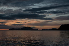11:12 p.m., just before Sundown (g_heyde) Tags: alesund mreogromsdal norwegen no clouds sundown mountains island sl