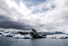 Jkulsarlon (E.Clerc) Tags: iceland jokulsarlon hofn nature wild ice iceberg white cold holiday water lake ocean polar landscape d3000 nikon clouds sky blue storm