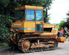 Track Marshall 155 crawler tractor (Nivek.Old.Gold) Tags: track marshall 155 crawler tractor crawfordson frithville