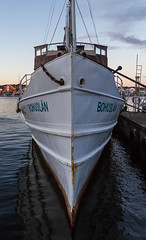 A steamer's bow (Per-Karlsson) Tags: steamer steamship vessel passangership bow sharp ship marstrand bohusln bohuslan sweden maritime classicvessel moored