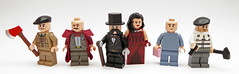 Characters from russian literature figbarf (Magma guy) Tags: lego minifigs figbarf russian literature characters do you expect find hints inside tag section sneaky comrade