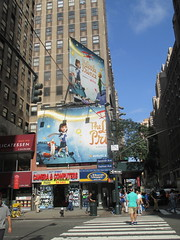 The Little Prince Billboard 7th Ave NYC 3313 (Brechtbug) Tags: the little prince billboard 7th ave 35th street nyc stop motion computer animation french childrens book philosophy philosophical puppets puppetry netflix children fantasy space planets planes aviation worlds small kids animals animal story 08122016 new york city streets avenues st