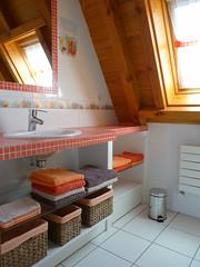 Le Cantal'houx - Salle de bains