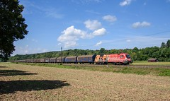 1016 048 ÖBB (Niederösterreichischer Landesfeuerwehrverband (Daniel Powalka) Tags: wetter filsbahn filstal werbung taurus öbb kbs750 rail railroad railway train zug sonne schiene spotting trainspotting wolken foto fotografie photographer photo