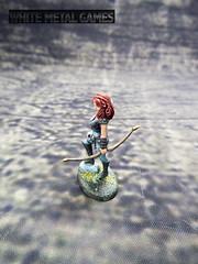 Dark Sword Miniatures Female Archer Gold level